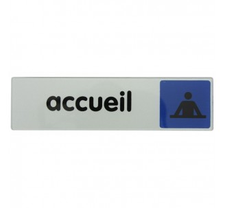 Plaque de porte plexi couleur accueil for Plaque de porte decorative