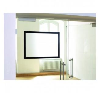 Porte-affiche adhésif format A2 ou A1 repositionnable mural coloris noir ou argent