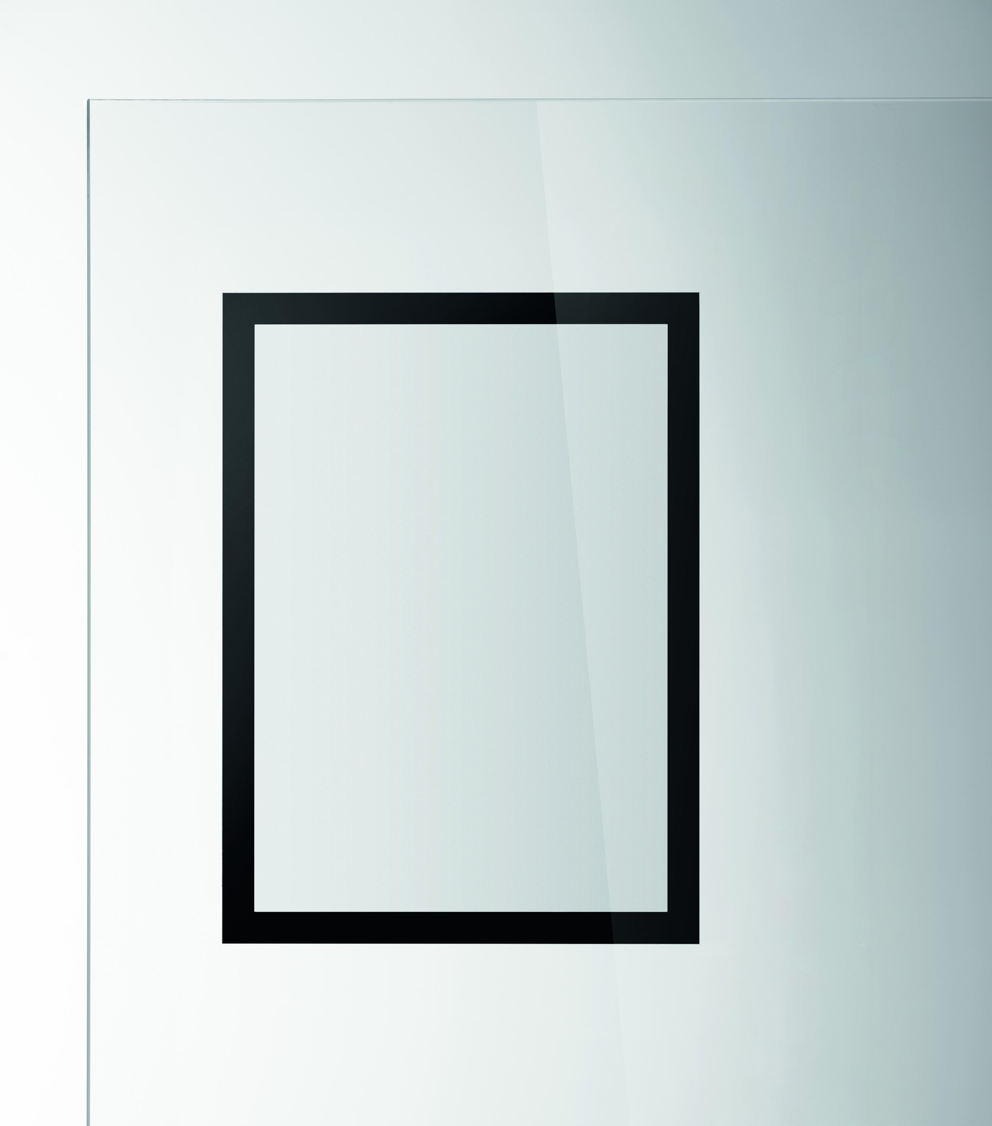 Porte De Chambre Avec Vitre porte-affiches sun mural adhésif repositionnable format a4 noir