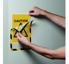 5 porte-affiches MAGNETIC SECURITY format A4 coloris au choix