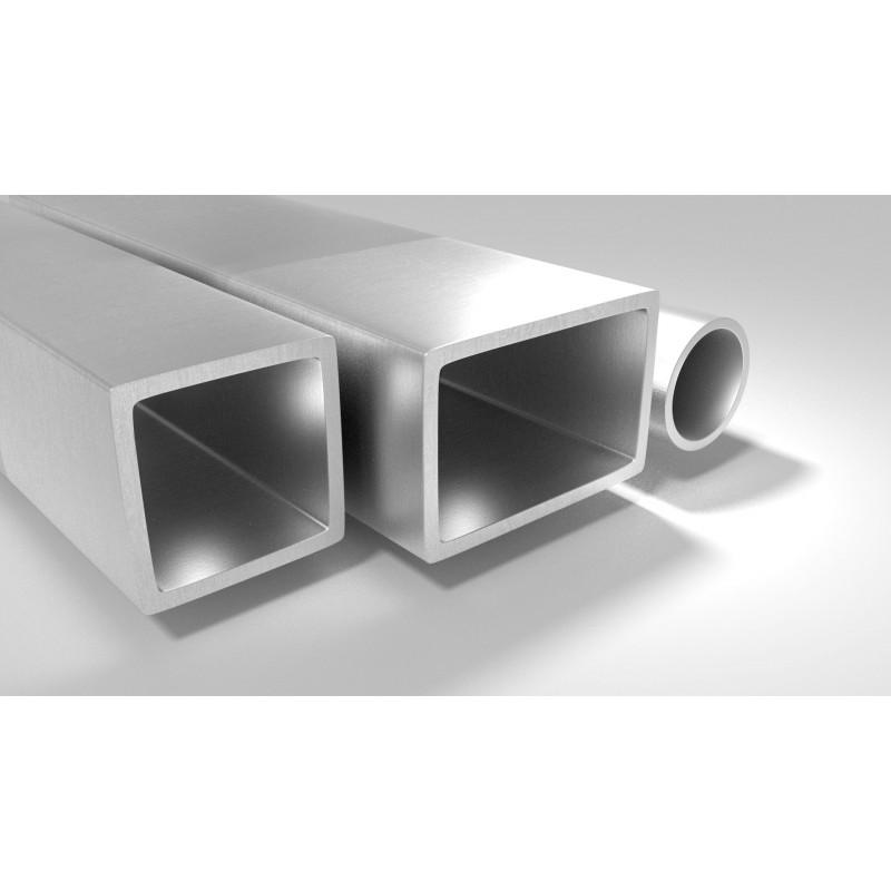 poteau acier galvanis 80x40 longueur de 1 50m. Black Bedroom Furniture Sets. Home Design Ideas
