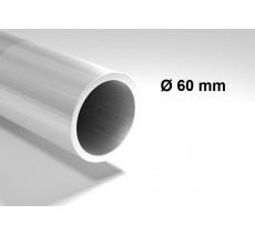 Poteau acier galvanisé diamètre 60mm