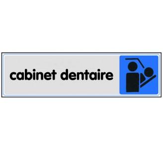 Plaque de porte plexi couleur Cabinet dentaire