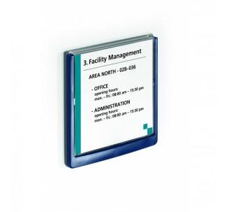 Plaque à personnaliser H 148,5 x L 149 mm