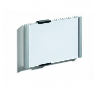 Plaque de porte alu à personnaliser dim: H 105,5 x L 149 mm