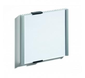 Plaque de porte alu à personnaliser dim: H 148,5 x L 149 mm