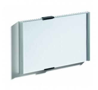 Plaque de porte alu à personnaliser dim: H 148,5 x L 210 mm