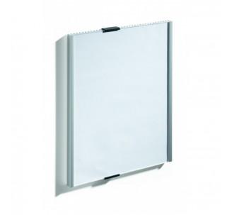 Plaque de porte alu à personnaliser dim: H 297 x L 210 mm