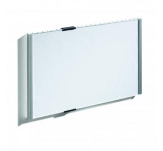 Plaque de porte alu à personnaliser dim: H 210 x L 297 mm