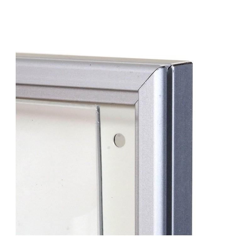 vitrine extra plate alu anodis naturel 20mm d 39 paisseur jusqu 39 4 a4. Black Bedroom Furniture Sets. Home Design Ideas