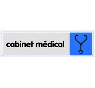 Plaque de porte plexi couleur Cabinet médical