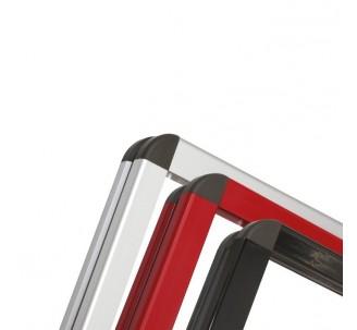 Vitrine métal en aluminium jusqu' à 9 A4