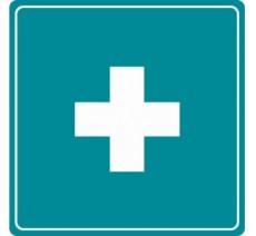 Pictogramme plexi couleur soins infirmerie