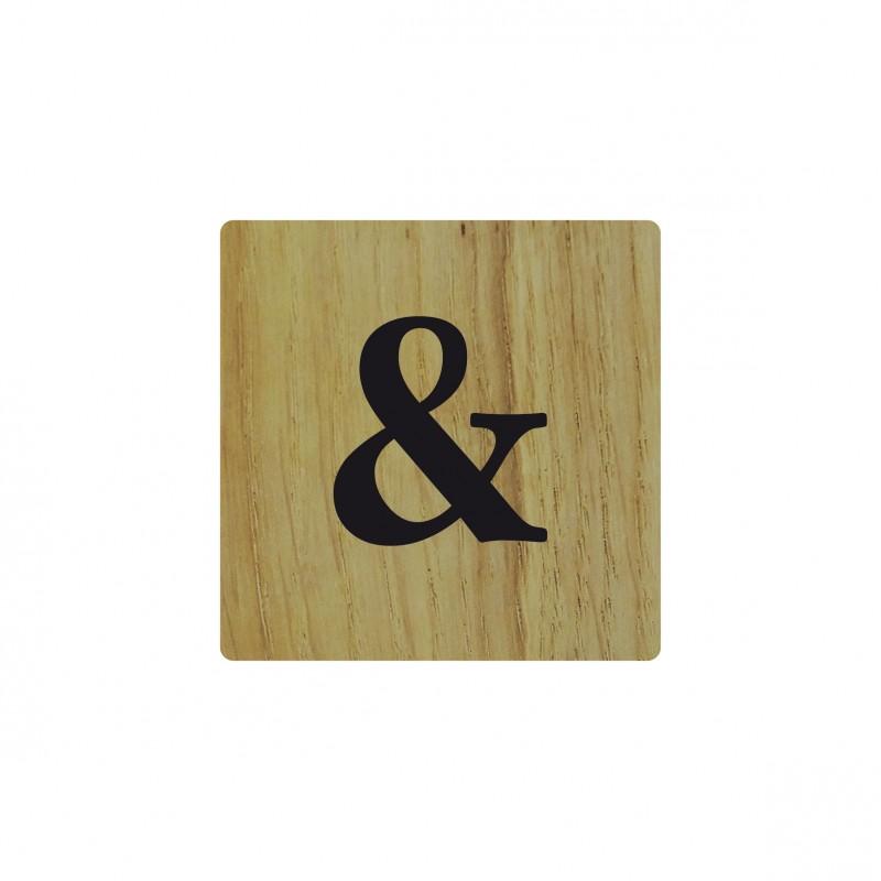 lettre en bois naturel d co scrabble. Black Bedroom Furniture Sets. Home Design Ideas