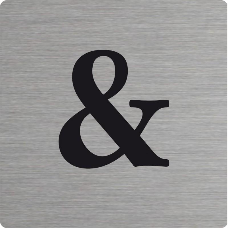 Symbole d corative type scrabble en aluminium - Deco lettre scrabble ...