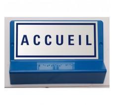 Support de signalisation symbole & braille   Accueil