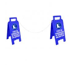 """Kit de 2 chevalets """"Obligations"""" + 5 m de chaîne"""