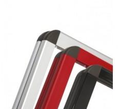 Vitrine métal en aluminium jusqu' à 6 A4