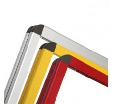 Cadre d'affichage métal dim:1000x1800mm