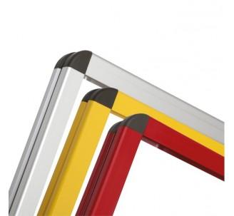 Cadre d'affichage métal dim:1000x2000mm