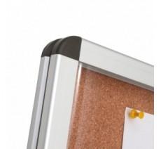 Cadre d'affichage liège dim:1200x2400mm