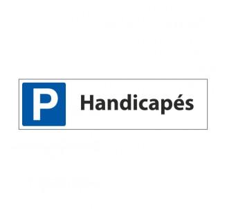 """Panneau de signalisation """"Parking Handicapés"""""""