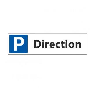 """Panneau de signalisation """"Parking Direction"""""""