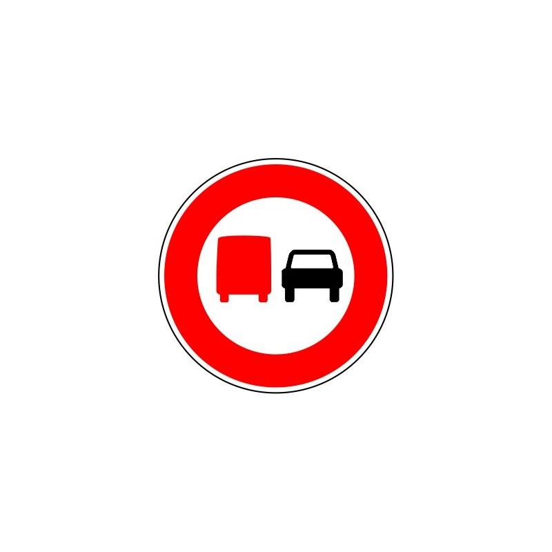 panneau routier interdiction camions plus de 3 5t de d passer. Black Bedroom Furniture Sets. Home Design Ideas