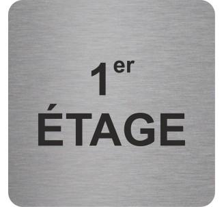 "Pictogramme en alu en relief ""1er ETAGE"""