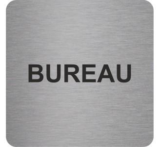 "Pictogramme en alu en relief ""Bureau"""