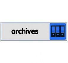 Plaque de porte plexi couleur Archives