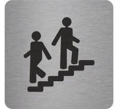 """Pictogramme en relief """"Escalier"""", 5 coloris au choix"""