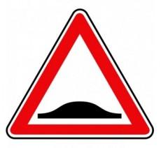 """Kit ou Panneau seul type routier  """"Ralentisseur""""  ref:A2b"""