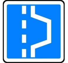 """Kit ou panneau type routier """"Emplacement d'arrêt d'urgence"""" ref:C8"""