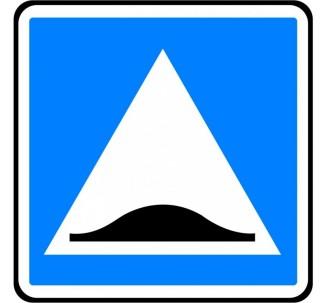 """Kit ou panneau type routier """"Surélévation de chaussée"""" ref:C27"""