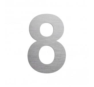 """Chiffre """"8"""" en aluminium, choisir la couleur et la dimension"""
