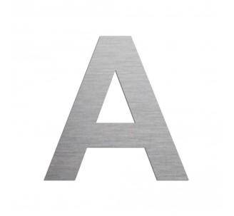 """Lettre """"A"""" en aluminium, coloris et dimensions au choix"""