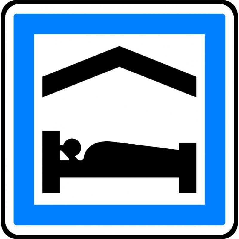 panneau type routier chambre dh244tes ou g238te refce5b
