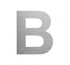 """Lettre """"B"""" en alu ou PVC découpé, coloris et dimensions au choix"""