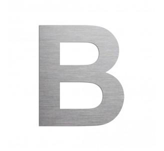 """Lettre """"B"""" en aluminium découpé, coloris et dimensions au choix"""