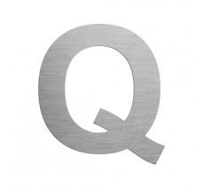 """Lettre """"Q"""" en aluminium découpé, dimensions et coloris au choix"""