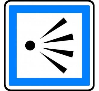 """Kit ou panneau type routier """"Point de vue"""" ref:CE21"""