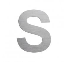 """Lettre """"S"""" en aluminium découpé, coloris et dimensions au choix"""