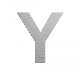 """Lettre """"Y"""" en alu découpé, dimensions et coloris au choix"""