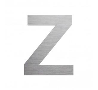 """Lettre """"Z"""" en aluminium découpé, hauteur et coloris au choix"""