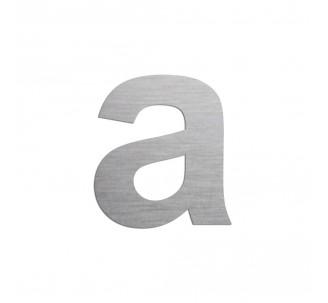 """Lettre """"a"""" minuscule en alu, coloris et dimensions au choix"""