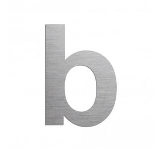 """Lettre """"b"""" minuscule en alu, couleurs et dimensions au choix"""