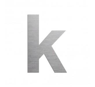 """Lettre """"k"""" minuscule en alu découpé, dimensions et couleurs au choix"""
