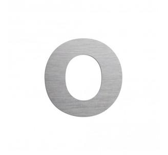 """Lettre """"o"""" minuscule en alu découpé, coloris et dimensions à choisir"""