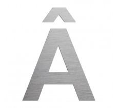"""Lettre """" Â """" en aluminium ou PVC découpée"""